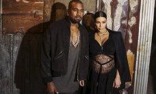 VIDEO: Nilbe või armas?! Kim Kardashian liputas beebikõhuga, kandes vaid läbipaistvat pitskleiti