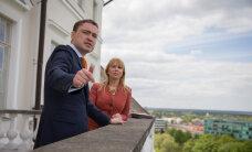 Рыйвас встретился с еврокомиссаром по внутреннему рынку Эльжбетой Беньковской
