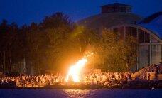 FOTOD: Vaata, milline nägi välja muinastulede öö Tallinna lahelt!