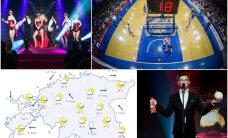 HOMMIKU-UUDISED: Tallinna Kalevi suurvõidu aastapäeva puhul toimub ajalooline korvpallimatš, täna jagatakse meelelahutusauhindu