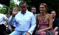 ФОТО: Президент Ильвес с беременной супругой на музыкальном фестивале Schilling