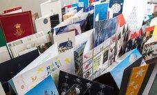 ФОТО DELFI: Кальюлайд получила поздравительные открытки от президента Литвы и музея Аушвиц-Биркенау