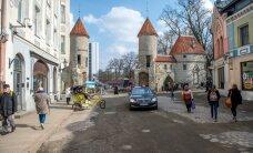 В Таллинне обозначают снесенные крепостные ворота