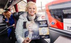 FOTOD: Spets värk! Kodumaised kuulsused said endale uues luksusbussis nimelised istekohad