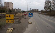 Движение по Палдискому шоссе восстановлено после реконструкции участка
