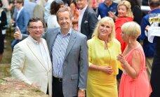 ФОТО: Обычно сдержанный президент Ильвес обнимался с бизнесменом Маргусом Рейнсалу