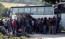 В Греции началась эвакуация лагеря беженцев в Идомени