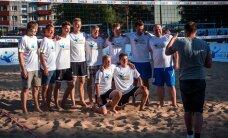 FOTOD: Eesti tuntud näod osalesid võrkpalli show-mängul