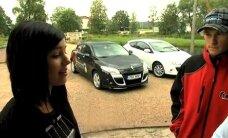 VIDEO: Birgit Õigemeel õpib Sten Pentuselt autosõitmise nippe