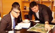 ФОТО: Новоиспеченный министр госадминистрирования Михаил Корб побывал в Ида-Вирумаа