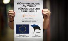 Töötukassa saatis raske liikumispuudega inimesele postkontorisse töövõimereformi plakati