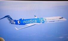 Eile maandus Tallinnas Nordica uus CRJ900 lennuk