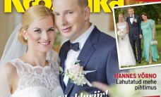 PALJU ÕNNE! Kersti ja Jaan Tootsi tütar Kerli pidas pereringis uhked pulmad