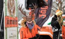 FOTOD: Tartu maratoni ei tulnud, aga Oranž Laupäev tuli! Vaata, kuidas Kuutsemäel erinevates talispordialades mõõtu võeti