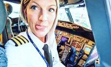FOTOD: Vallatud kokpitipildid ja trimmis joogakeha! Rootslannast Ryanairi piloot kogub maailmas kuulsust seksikate piltidega