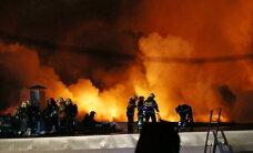 ВИДЕО: В Москве при пожаре погибли 8 спасателей