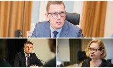 Rõivas esitas fraktsiooni esimehe kohale Michali ning aseesimeesteks Pevkuri ja Lauri