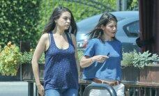 PAPARATSO: Pungitava kõhuga Mila Kunis ei jäta kahtlustki, et perelisa varsti saabub