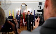 ФОТО DELFI: Вице-президент США встретился с президентами стран Балтии