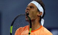 Rafael Nadal komistas Shanghais maailma 31. reketi otsa
