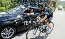 Sky meeskonna esinumber jättis Giro d`Italia pooleli
