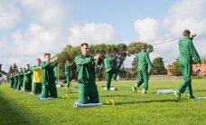 FOTOD: Leedu korvpallikoondis rassib Palangas treeninglaagris