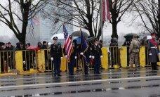 ФОТО и ВИДЕО читателя Delfi: Эстонские военные приняли участие в параде в Латвии