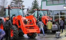 Stokker Agri esitles uusi põllutraktoreid JCB Fastrac ja Kubota