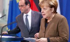 Меркель и Олланд выступили за продление санкций против России