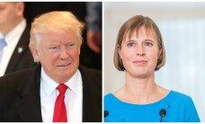 Trump pole president Kaljulaidiga ühendust võtnud