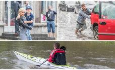 """ГЛАВНОЕ ЗА ДЕНЬ: Таллинн чуть не смыло, потоп в """"Юлемисте"""" и байдарочники в Ласнамяэ"""