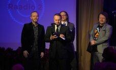 FOTOD: Varjust välja: lõpuks said EFÜ eestvedamisel pärjatud needki, kes muusikute seljataguse eest hoolitsevad!