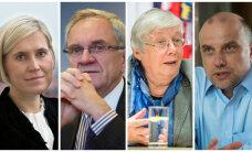 Kellest saab kiirkorras järgmine president: turvaline Nestor, vaikne Luik, igihaljas Lauristin või apoliitiline Madise?