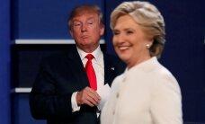 Трамп и Клинтон поспорили об оружии, иммиграции, праве на аборты и Путине