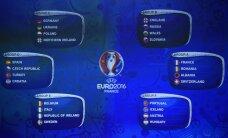 Jalgpalli EM-i alagruppide loosimisel tekkis mitu põnevat gruppi!