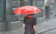Метеослужба предупреждает о сильных ливнях в девяти уездах