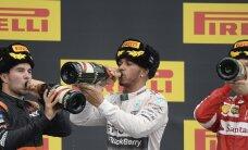 Hamilton kihutas end Sotšis kindla võiduni, Bottas ja Räikkönen tegid viimasel ringil tragikoomilise avarii