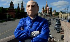 """Активист в маске Путина"" попросил убежище на Украине"