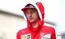 Kimi Räikkönen peab isadepäeval tööd tegema