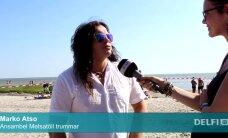 PUBLIKU VIDEO: Metsatöllu trummar Marko Atso enne Weekendi Pärnu rannas: David Guetta on mees, kes teab, mida teeb!