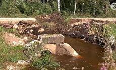 VIDEO: Viljandimaal uhus suvine suurvesi sõidutee minema