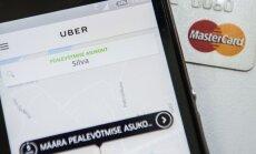 Uber ja krediitkaart