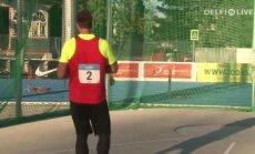 VIDEOKOKKUVÕTE: Põneva kettaheitevõistluse võitis Pärnus Gudžius Kupperi ja Kanteri ees