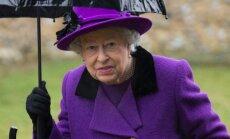 The Queen attends church