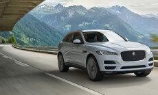 Jaguar F-PACE näitas end Eestis