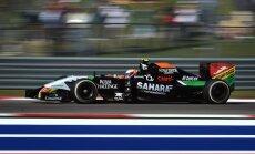 Force India sõitja Sergio Perez