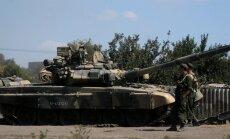 KAART: Vene väed jätkavad edasitungi Ukrainas, Donetski ja Luganski lennujaamade läheduses leidis aset mitu tulevahetust