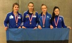 Vasakult: Carmen-Lii Targamaa, Karoliine Loit, Getter Lage, Sandra Skoblov.
