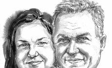 Silja ja Arvi Pitelkov: Tallinn ja Türi kohtusid grillahju juures