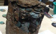 В Пскове найден клад Плюшкина
